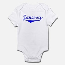 Janessa Vintage (Blue) Infant Bodysuit