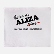Cute Aliza Throw Blanket