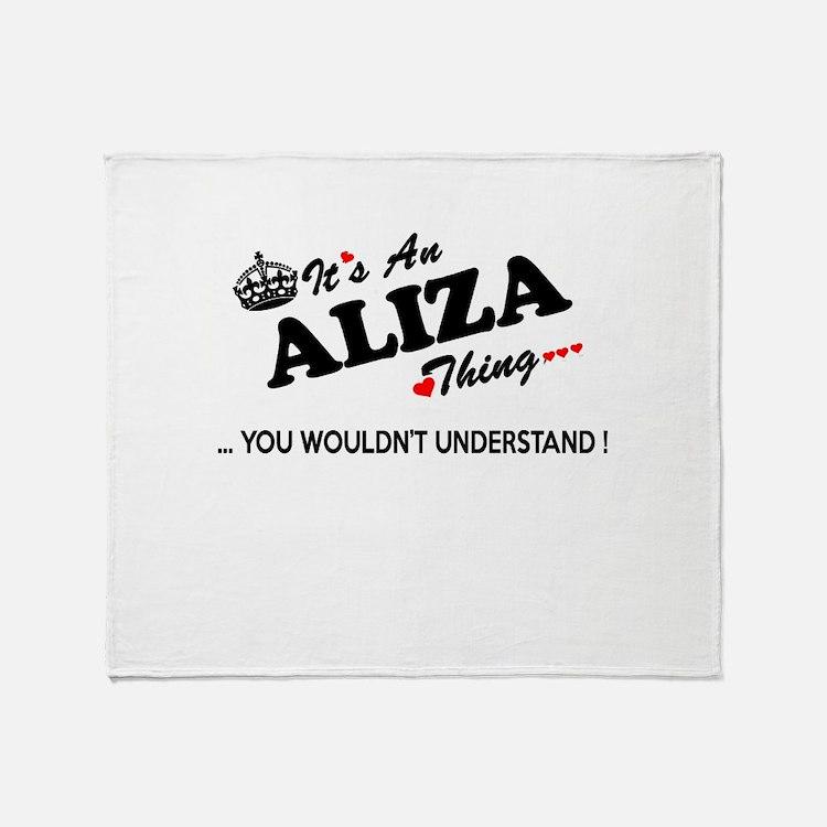 Cute Aliza Throw Blanket