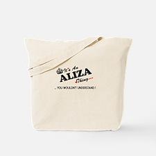 Cute Aliza Tote Bag
