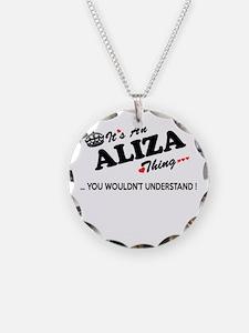 Unique Aliza Necklace