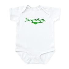 Jacquelyn Vintage (Green) Onesie