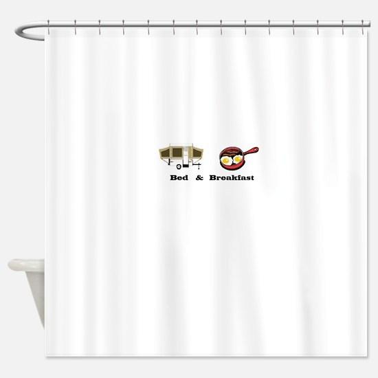 Cute Camper Shower Curtain