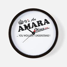 Funny Amara Wall Clock