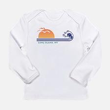 Long Island NY Long Sleeve Infant T-Shirt
