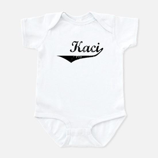 Kaci Vintage (Black) Infant Bodysuit
