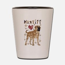 Geometric Mastiff Shot Glass
