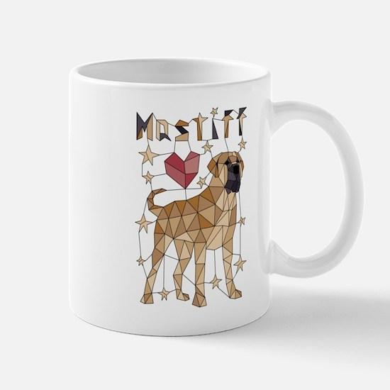 Geometric Mastiff Mugs