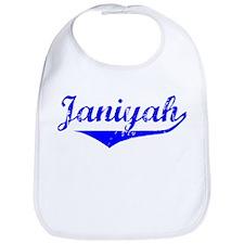 Janiyah Vintage (Blue) Bib