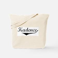 Kadence Vintage (Black) Tote Bag