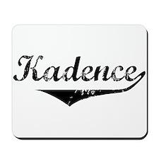 Kadence Vintage (Black) Mousepad