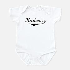Kadence Vintage (Black) Infant Bodysuit