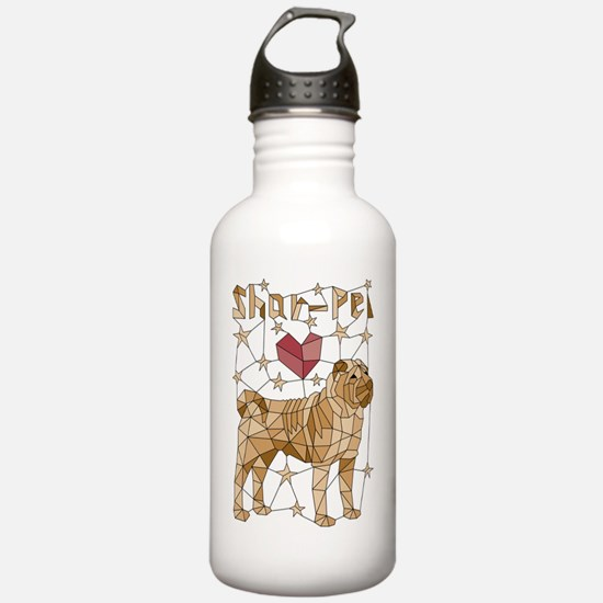 Cute Sharpei Water Bottle