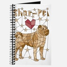 Cute Shar pei Journal