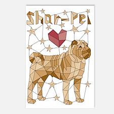 Cute Sharpei Postcards (Package of 8)