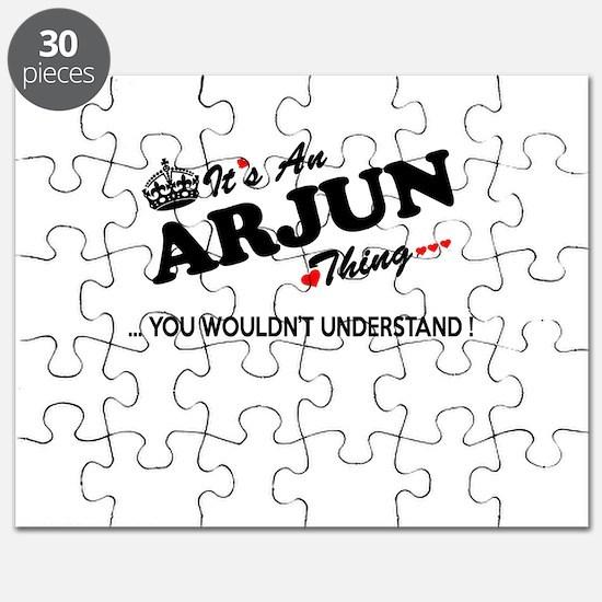 Unique Arjun Puzzle