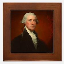 Portrait of George Washington by Gilbert Stuart Fr