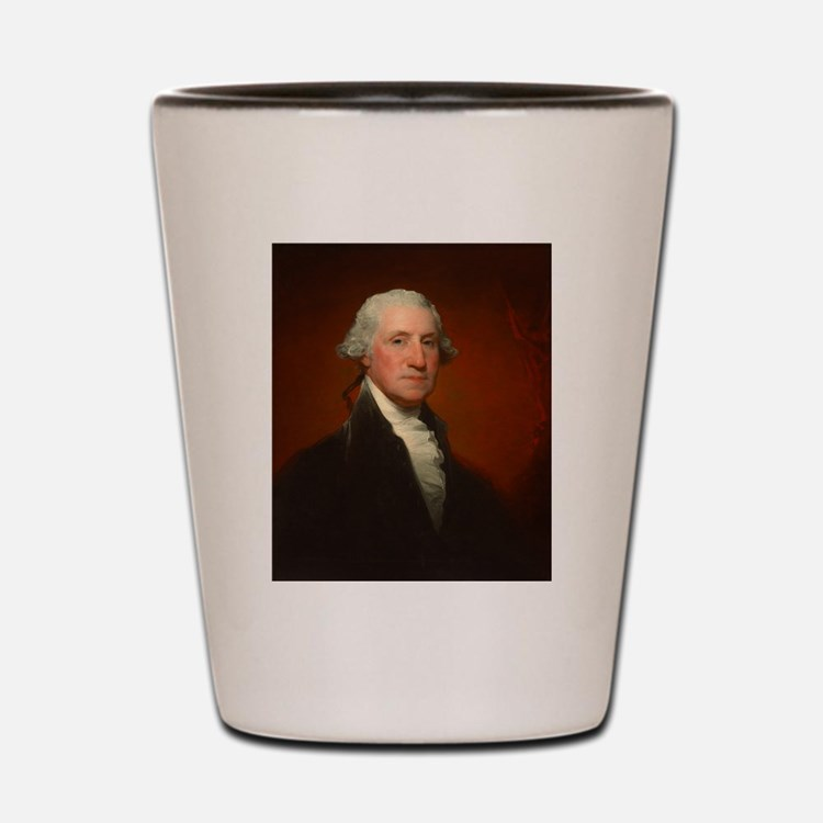 Portrait of George Washington by Gilbert Stuart Sh