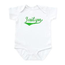 Jailyn Vintage (Green) Infant Bodysuit