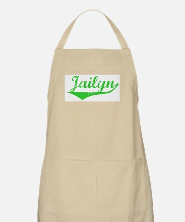 Jailyn Vintage (Green) BBQ Apron