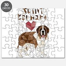 Geometric Saint Bernard Puzzle