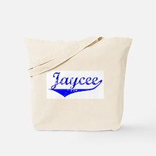 Jaycee Vintage (Blue) Tote Bag
