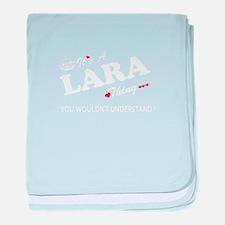 Unique Lara baby blanket