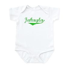 Jakayla Vintage (Green) Infant Bodysuit