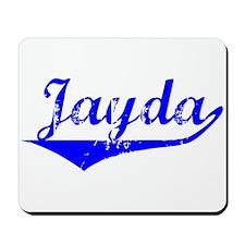 Jayda Vintage (Blue) Mousepad