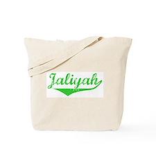 Jaliyah Vintage (Green) Tote Bag