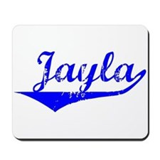 Jayla Vintage (Blue) Mousepad