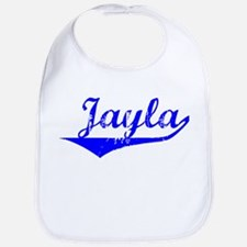 Jayla Vintage (Blue) Bib