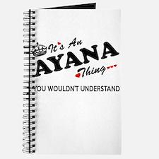 Unique Ayana Journal