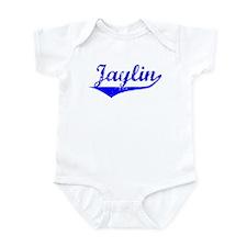 Jaylin Vintage (Blue) Infant Bodysuit