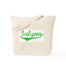 Jalynn Vintage (Green) Tote Bag