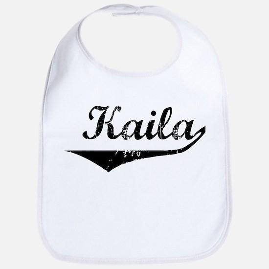 Kaila Vintage (Black) Bib