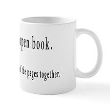An Open Book Mug