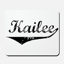 Kailee Vintage (Black) Mousepad