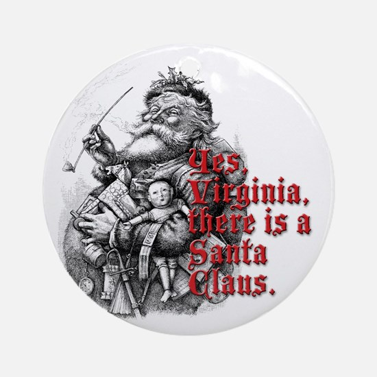 Virginia Ornament (Round)