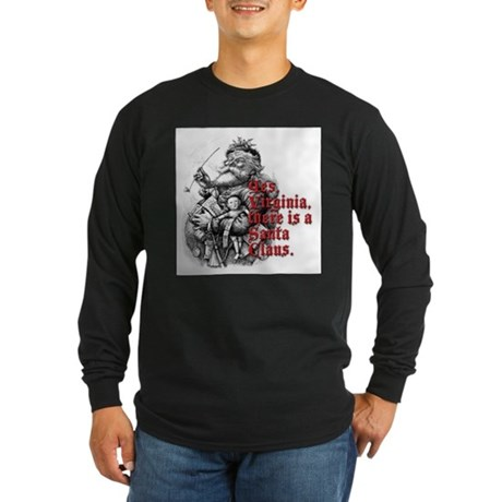 Virginia Long Sleeve Dark T-Shirt