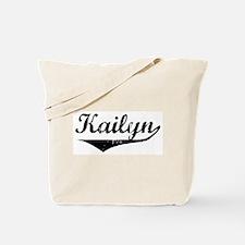 Kailyn Vintage (Black) Tote Bag