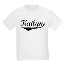 Kailyn Vintage (Black) T-Shirt