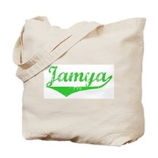 Jamya Vintage (Green) Tote Bag