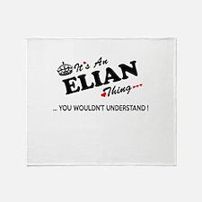 Unique Elian Throw Blanket
