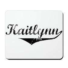 Kaitlynn Vintage (Black) Mousepad