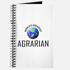 World's Greatest AGRARIAN Journal