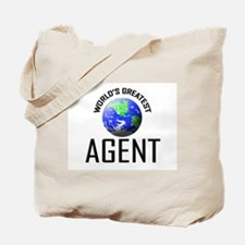 World's Greatest AGENT Tote Bag