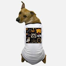 Unique Raven skull Dog T-Shirt