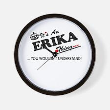 Cute Erika Wall Clock