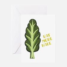 Eat More Kale Greeting Cards